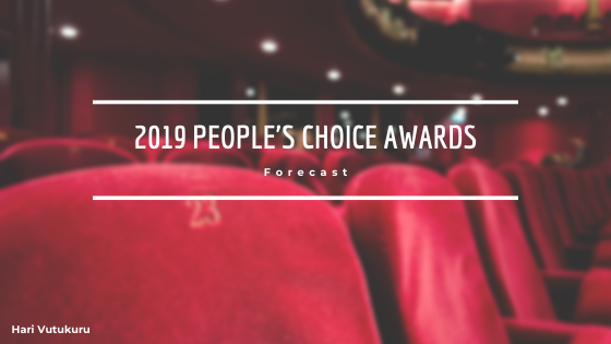 2019 People's Choice Awards Forecast