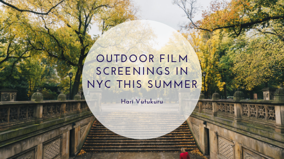 Outdoor Film Screenings in NYC This Summer