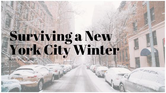 Surviving a New York City Winter