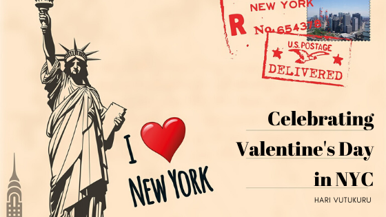 Celebrating Valentine's Day in NYC